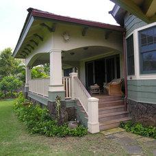 Tropical Exterior by MOKULUA High Performance Builder