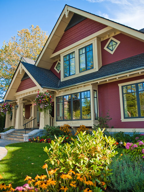 Craftsman colors home design ideas pictures remodel and for Craftsman exterior color schemes