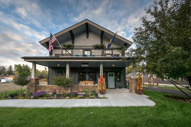Craftsman Exterior A Stone's Throw - Livingston, Montana, USA
