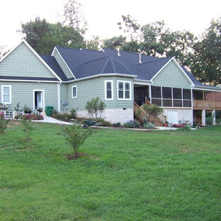 Inspiration for a craftsman exterior home remodel in Other
