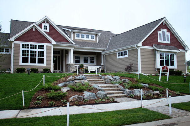Traditional Exterior by K Architectural Design, LLC