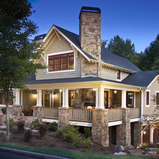 Craftsman Exterior by Brookstone Builders