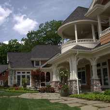 Traditional Exterior by Coplen Construction INC