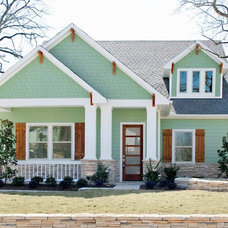 Traditional Exterior by Precision Designs