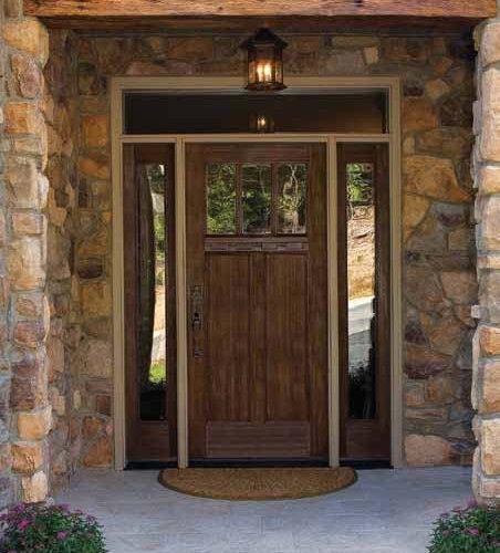 Fiberglass Doors That Look Like Wood : Fiberglass door home design ideas pictures remodel and decor