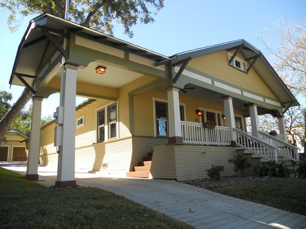 Craftsman Exterior by Green Button Homes LLC