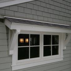 Craftsman Exterior by Frozé Design-Build, Inc.