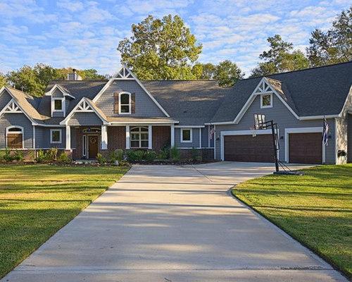 Save. Craftsman Ranch House Plan 4445