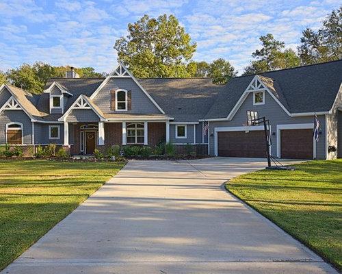 Craftsman Ranch House Plan 4445