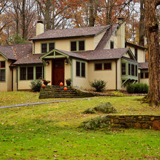 Traditional Exterior by John Power Architect