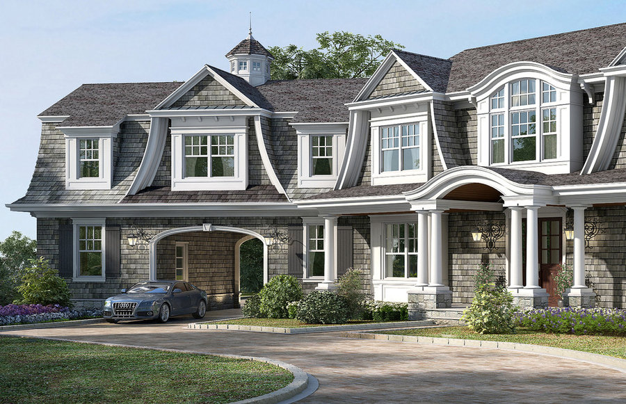 Craftsman Shingle Home In Bergen County NJ