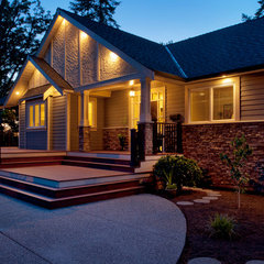 traditional exterior by Mountainside Design + Build