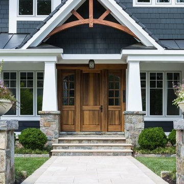 Craftsman Style Exterior front Entrance