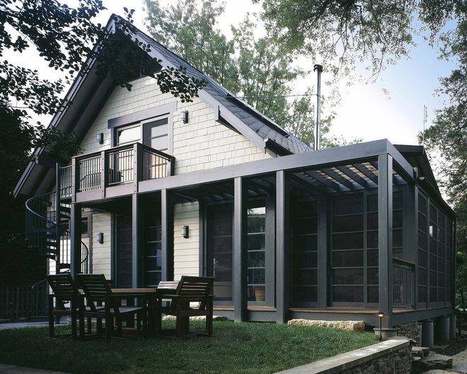 Craftsman Exterior by Gardner Mohr Architects LLC