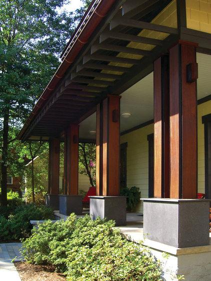 asian exterior by Gardner Mohr Architects LLC