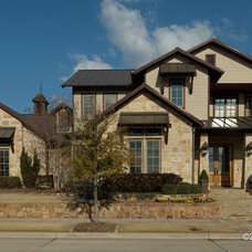 Traditional Exterior by Superior Plan Design