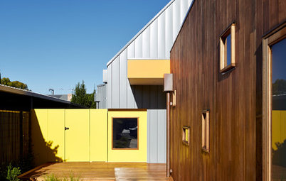 Houzz Tour: The Power of Simple Shapes and Crayon Color