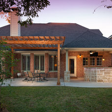 Traditional Exterior by Brickhouse Construction, LLC
