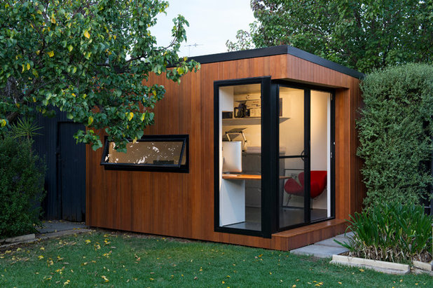 outside home office. contemporary home office by inoutside outside e