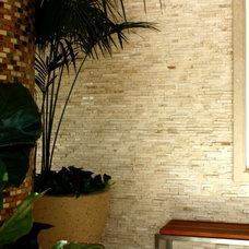 Contemporary Exterior by aZura Stoneworks