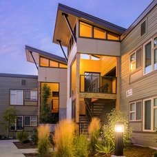 Contemporary Exterior by Pinnacle Architecture