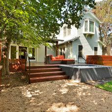 Modern Exterior by GreenTex Builders LLC