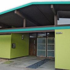 Modern Exterior by crestviewdoors
