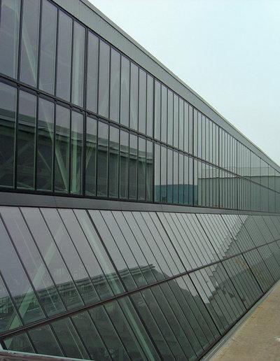 コンテンポラリー 家の外観 by Steel Windows and Doors USA