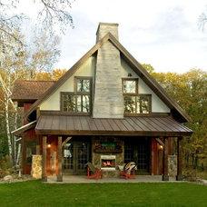 Exterior Crosslake Cabin