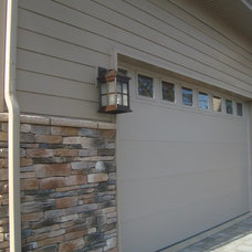 Contemporary Exterior by The Gaines Group, PLC