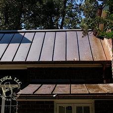 Traditional Exterior by Leska Restoration LLC