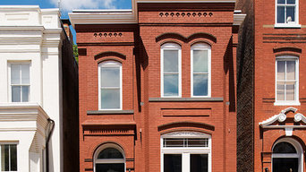 Crumbling Georgetown Rowhouse Restored to it's Former Glory