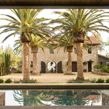 mediterranean exterior by kahn design associates