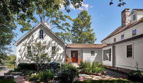 Houzz Tour: The Rebirth of an 18th-Century Connecticut Farmhouse