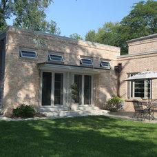 Eclectic Exterior by Frozé Design-Build, Inc.