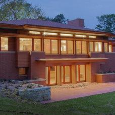 Contemporary Exterior by Blue Hot Design