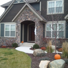 Traditional Exterior by Brock White