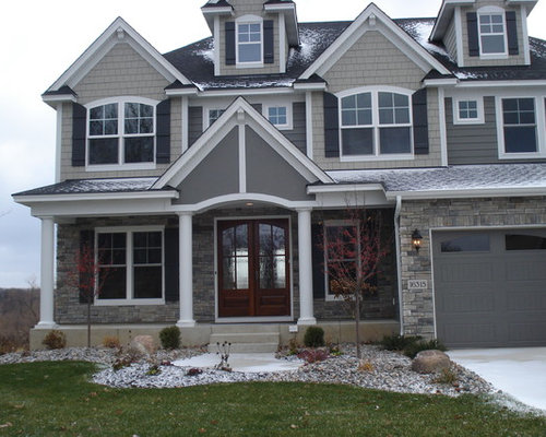 Country ledgestone ideas pictures remodel and decor for Exterior ledgestone
