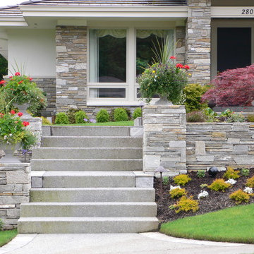 Cultured Stone Wall and Facing