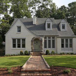 Elegant brick exterior home photo in Atlanta