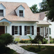 Traditional Exterior by Anna Berglin Design