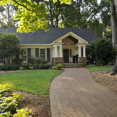 Traditional Exterior by DeRhodes Construction