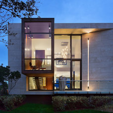 Contemporary Exterior by Jack deLashmet and Associates