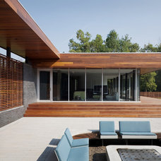 Contemporary Exterior by Hufft Projects