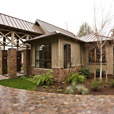 Eclectic Exterior by Bill Fry Construction - Wm. H. Fry Const. Co.