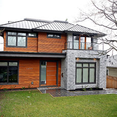 Contemporary Exterior by Odenza Homes Ltd