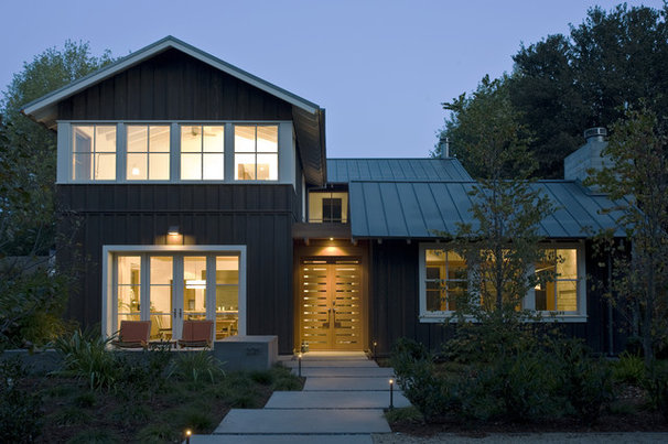 Transitional Exterior by Arcanum Architecture