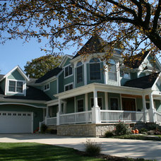 Traditional Exterior by JB Architecture Group, Inc.