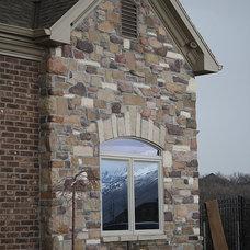 Traditional Exterior by NPW Stone Masonry