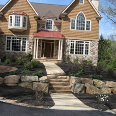 Traditional Exterior by Woodward Landscape Supply